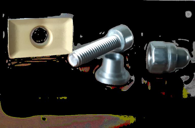 30852 Kit (vis, écrou, cale) lame de disque DL SOPAVET PARAGE BOVIN